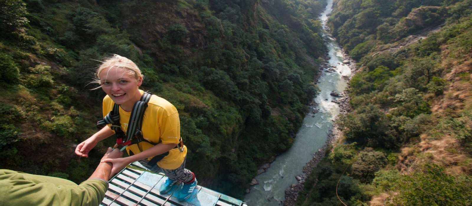 Nepal Bungee jumping Day Tour